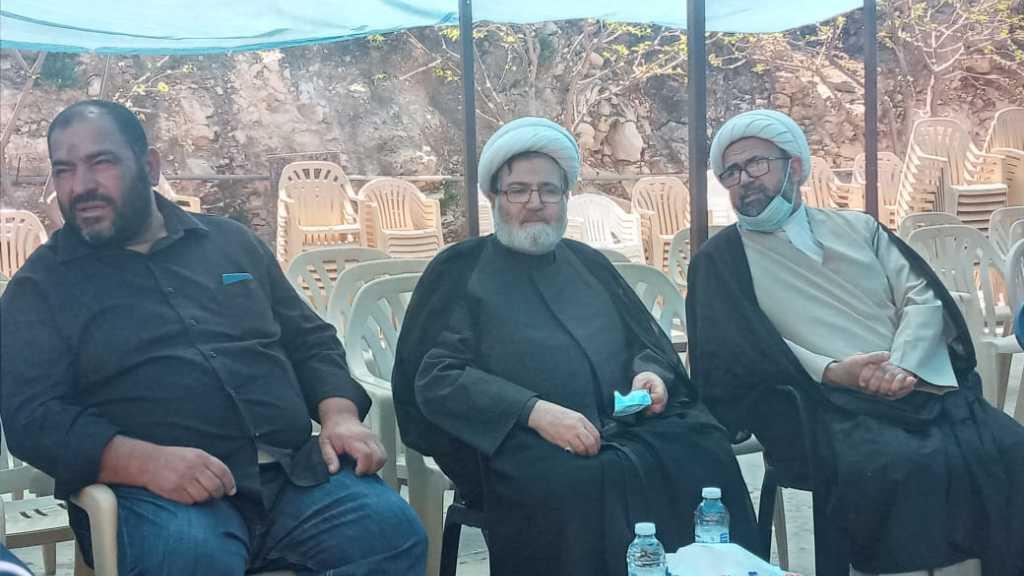 الشيخ البغدادي في عزاء الشهيد طحان: نهاية هذا  الكيان حتمية وهي مسألة وقت