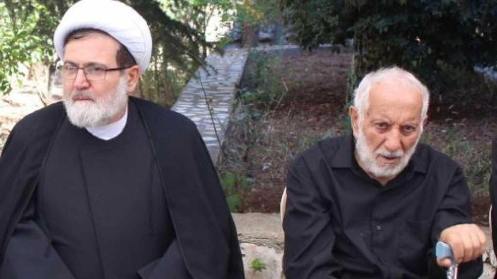 الشيخ البغدادي معزياً بالمختار الحاج أبو حسن كركي: كان حاضناً للمقاومة يوم عَزَّ النصير
