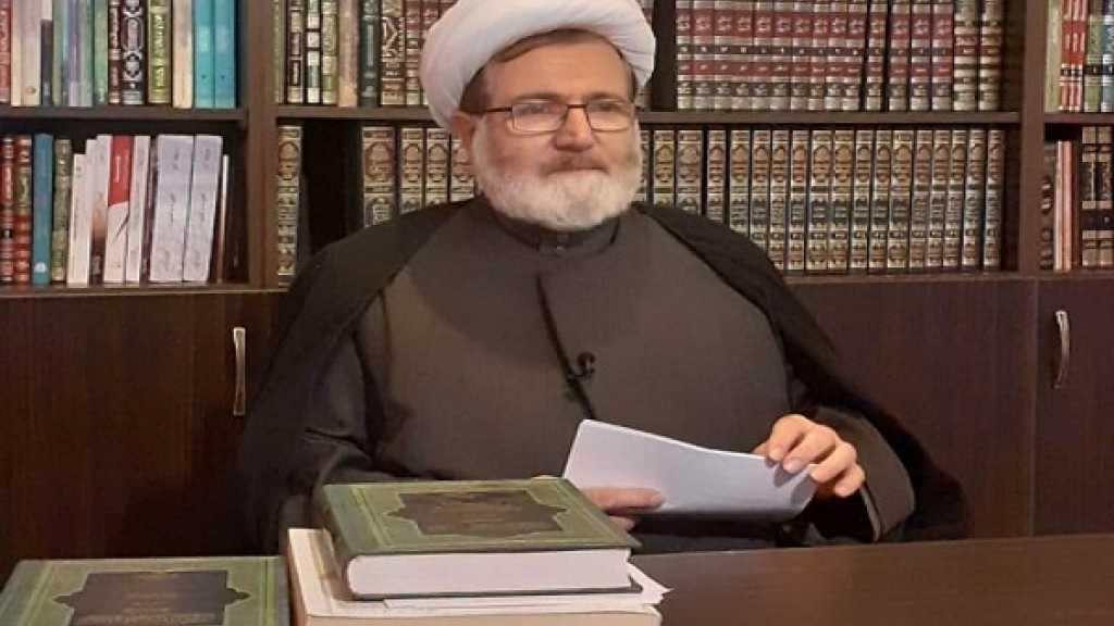 الشيخ البغدادي عزى برحيل اية الله السيد محمد سعيد الحكيم