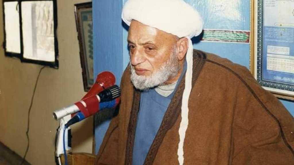 الشيخ موسى عبد الكريم شرارة العاملي