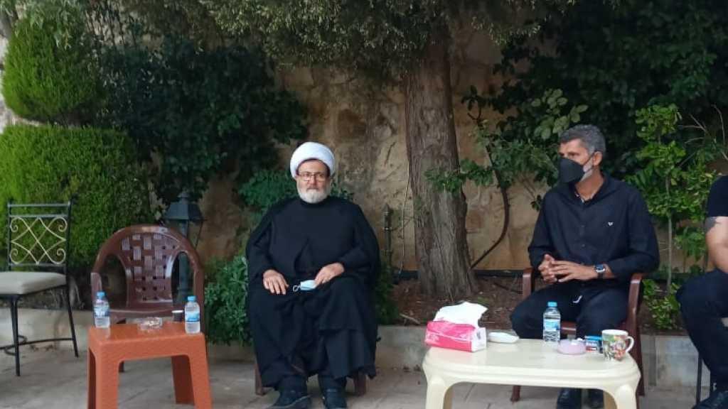 الشيخ البغدادي: يُقدّم واجب العزاء في بلدة الخرايب