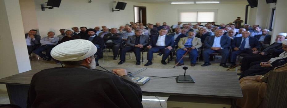 الشيخ بغدادي: العصر الإسرائيلي انتهى ولم يعد ينفع الدعم الأمريكي ولا المساعدات