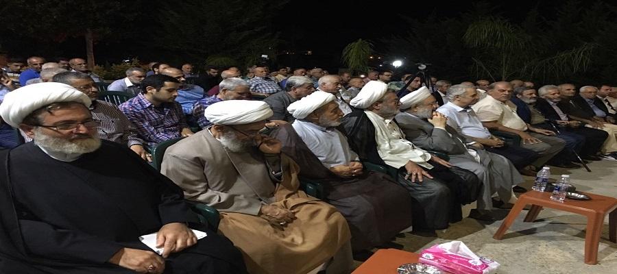 الشيخ بغدادي: لبنان اليوم بات عصياعلى العدو  الإسرائيلي وعلى التكفيريين