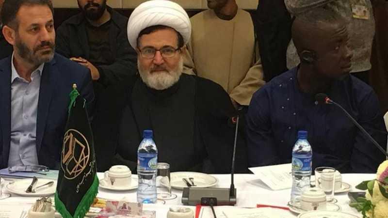 الشيخ بغدادي من طهران: الجمهورية الإسلامية اليوم،  تُمثّل الرافعة الحقيقية للقضية الفلسطينية