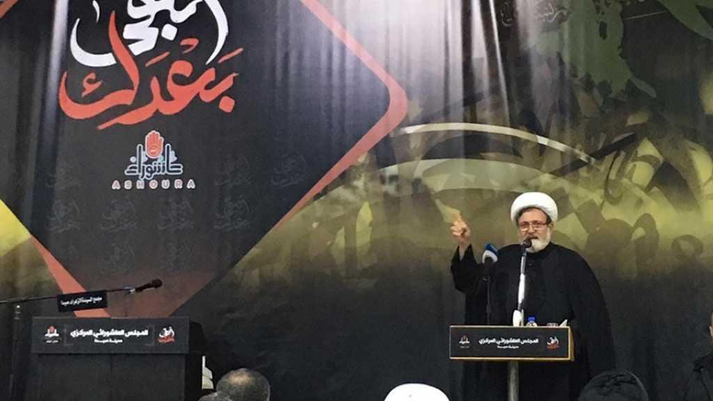 الشيخ بغدادي: ولّى ذاك الزمن الذي كانت فيه إسرائيل تسرح وتمرح في عواصم العالم العربي