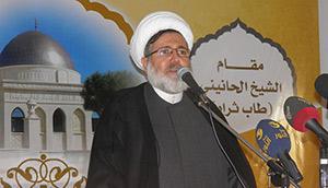 احتفال تكريم سماحة العلامة الشيخ حسن الحانيني