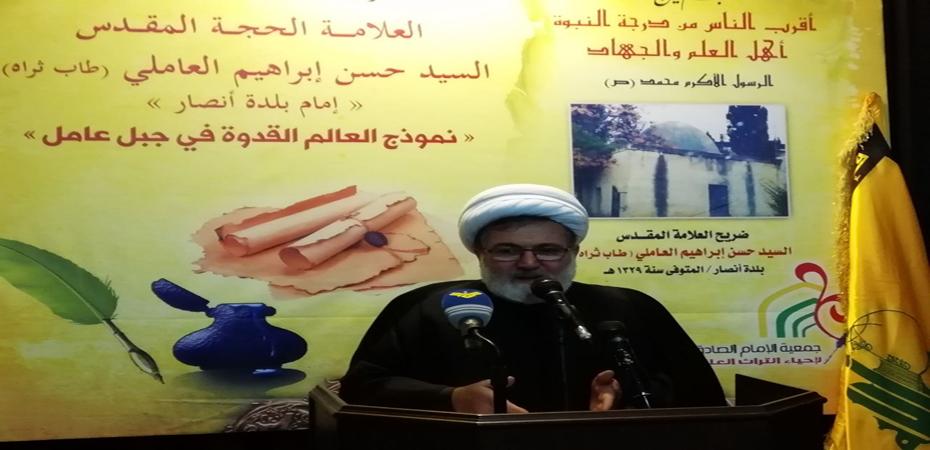 الشيخ بغدادي: الإستحقاق النيابي يحمي السلم الأهلي ومشروع المقاومة