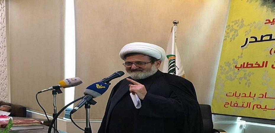 الشيخ بغدادي: الفساد المستشري في أنظمة الدولة  يحتاج إلى ثورة من نوع خاص