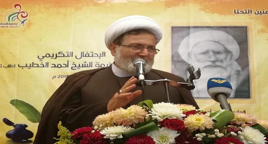 الشيخ بغدادي: يجب الاسراع في تشكيل الحكومة،  وكفاكم هذيان بالمراهنة على تحقيق  إنجازات خارجية